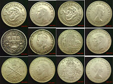 Australia Silver 1 Shilling to 5 Shillings Choice of coins in coin wallet
