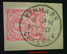 GB KGV Downey Head used in Ireland. Choice of Towns or Villages FREE UK POST