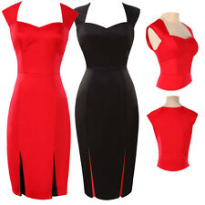 New Vogue Sexy Lady Classsic Pinup Bodycon Party Prom Elegant Work Pencil Dress