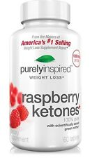 Raspberry Ketones Diet Weight Loss Pills 600mg Purely Inspired 1, 2 & 3 Month