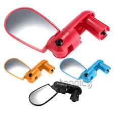 Bike Bicycle Rearview Rear View Mirror Handlebar Mount Adjustable