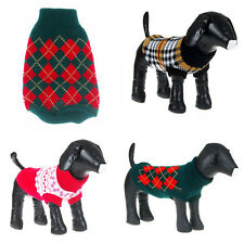 Warm Dogs Pet Cat Sweater Knit Coat Clothes Puppy Costume Apparel Small to Large
