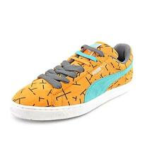 Puma Classic 1993 The List Mens Orange Regular Suede Sneakers