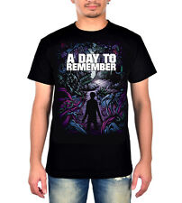 A Day To Remember Homesick T-shirt 100% Cotton Black