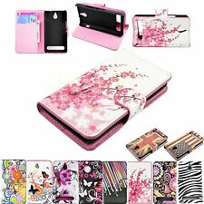 Stand Folding Leather Wallet Phone Case For Sony Xperia E1 D2004 / D2005 experia