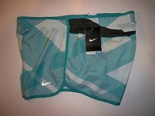 New with tag Nike Women's  Printed SPRINTER  Running shorts 548479-366 w/ liner