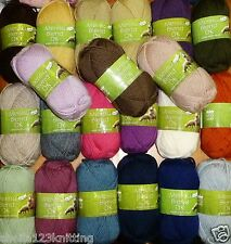 KING COLE ANTI TICKLE MERINO BLEND DK KNITTING YARN  -  IN VARIOUS SHADES