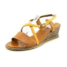 Kickers Sushidue 2 Womens Leather Wedge Sandals Shoes