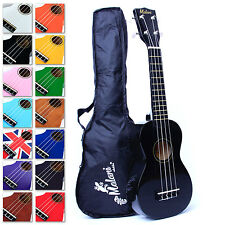Soprano Ukulele Starter Pack & bag + 5 yr guarantee for beginners kids Malani