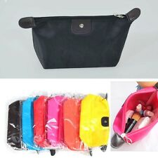 New Womens Ladys' Makeup Case Bag Travel Trips Clutch Pouch Handbag Organizer