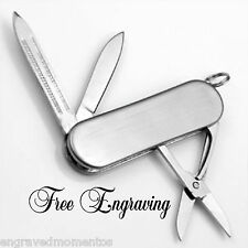 Personalized 3 Tool Pocket Knife Groomsman Gift - Engraved Free