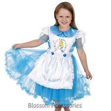 CK208 Disney Daisy Chain Alice in Wonderland Dress Child Girl Book Week Costume