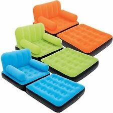 BESTWAY MULTI MAX INFLATABLE SINGLE SOFA BED AIR COUCH AIR BED MATTRESS LOUNGER