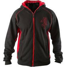 "Hayabusa ""Attack"" Zip Up MMA Hoodie - Black"