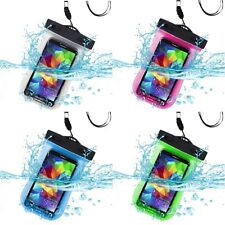 Waterproof Underwater Dry Pouch Bag Case w/ Lanyard + Armband