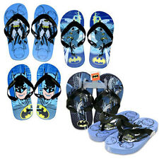 BATMAN Children Kids Boys Flip Flops Slipper Beach Sandals 2/3 - 1 PAIR NEW