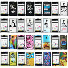 For LG Optimus L9 P769 T-Mobile Cool Designs Rubberized Hard Cover Case