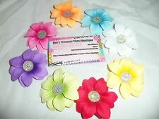 PICK 1 baby OR girls HAIR BOW clip SPRING DAISY flower HAIR BOW bridal hOLIDAY