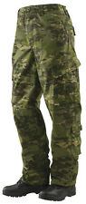 Tru-Spec Multicam Tropic 10 pocket Tactical Response Uniform pant 50/50 NYCO Rip