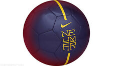 NEW Nike Neymar Prestige Barcelona Football Ball - Purple/Blue/Yellow - Size 5