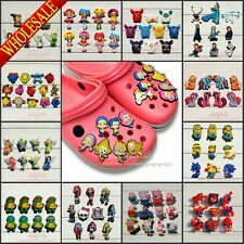 Hot,100pcs/lot PVC Shoe Charms Fit Bracelet Band,Shoe Ornaments,Kids Party Gift