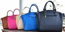 LUXURY LADIES WOMEN DESIGNER LEATHER TOTE SHOPPER SHOULDER HANDBAG BAG LADIES