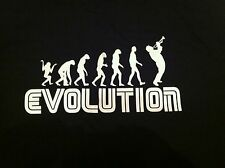 Evolution Jazz Soul Funk Trumpet Horn Player Tee Shirt All Sizes Father Day Gift