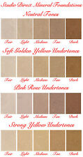 ONE BARE MINERAL MAKEUP FOUNDATION COSMETIC SAMPLE SIZE NEW YOU CHOOSE 1 COLOR