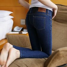 Sexy High Waist Women's Stretch Casual Slim Fit Skinny Jean Trouser Pencil Pant