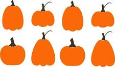 Pumpkins Halloween Fall Harvest Decor Vinyl Decal Wall Stickers Letters Words