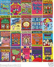 NEW - JACQUELINE WILSON BOOK (* buy 4 CHOOSE 1 FREE)  NEW FREE POSTAGE
