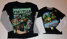 TEENAGE MUTANT NINJA TURTLES Boys 4 5 6 7 8 10 12 14 16 18 20 Tee SHIRT Top TMNT