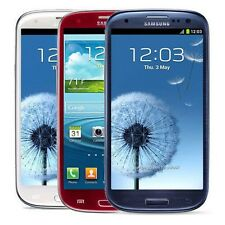 Unlocked Samsung Galaxy S III SGH-I747 16GB AT&T S3 White Blue Smartphone