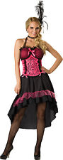 Sexy Showgirl Burlesque Dancer Saloon Gal Wild Western Can Can Girl Costume