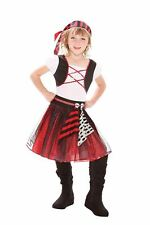 PUNKY PIRATE GIRL GIRLS COSTUMES, FANCY DRESS