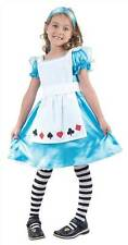 ALICE IN WONDERLAND CHILDS FANCY DRESS COSTUME, KIDS BOOK WEEK, FAIRYTALE