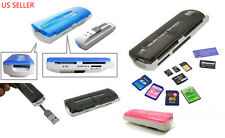 USB 2.0 Trans Flash Memory Multi-Card Adapter (reader, writer), micro SD, SD/MMC