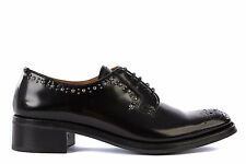 CHURCH'S WOMEN'S CLASSIC LEATHER LACE-UP SHOES DERBY BLACK  EAB