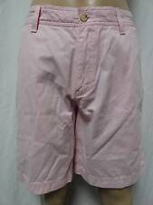 MEN'S NICE IZOD SALTWATER FAIRY TALE PINK FLAT FRONT CASUAL SHORTS-33,36,38,42