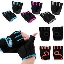 New GYM Weight Lifting Gloves Health Fitness Dumbbell Half Finger Workout Gloves