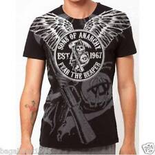 SOA Sons of Anarchy Fear the Reaper Wings T-shirt Tee Tshirt ( New ) SOA33