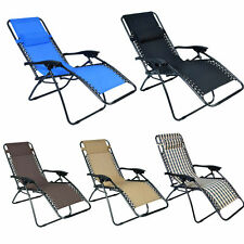 New Lounge Chair Zero Gravity Folding Recliner Patio Pool Lounger 5color