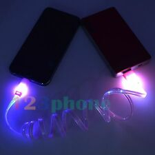 1 METER LED LIGHT SYNC CHARGE CHARGER CABLE FOR IPAD MINI 2 3 IPHONE 6 PLUS 5S 5