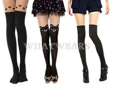 Black Sexy Leggings Socks Sheer Tights Silk Stockings Pantyhose Thigh-Highs HUK