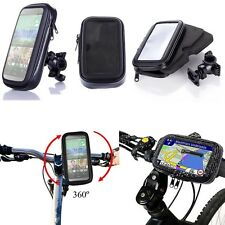 Water Resistant Rotating Bicycle Bike Mount Handle Bar Holder Case For Phone