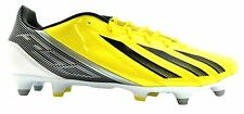 Adidas F10 Trx Sg Men's Yellow Lace Up 11 Stud Football Boots New