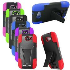 Phone Case For ZTE Warp Sync N9515 Rugged Cover with Kickstand