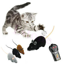 New Remote Control RC Wireless 3 Colors Rat Mouse Toy For Cat Dog Novelty Funny