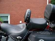 Harley 07-UP Heritage Softail / Fatboy Motorcycle Driver Backrest EZ ON/OFF