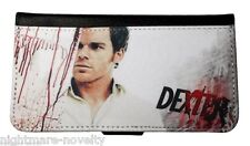 DEXTER SAMSUNG GALAXY & iPHONE CELL PHONE FLIP CASE LEATHER COVER WALLET